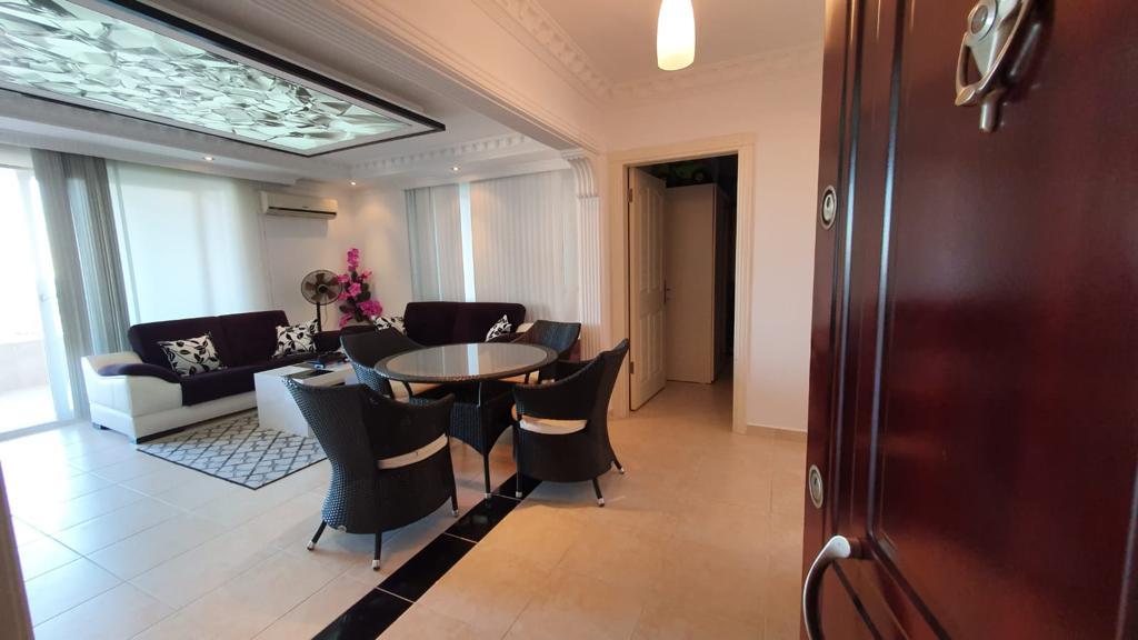 Просторная меблированная квартира в Махмутларе с видом на море и горы - Фото 10
