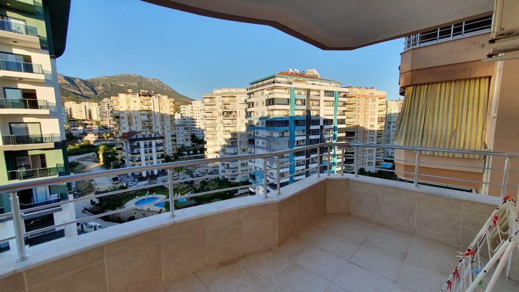 Просторная меблированная квартира в Махмутларе с видом на море и горы - Фото 24
