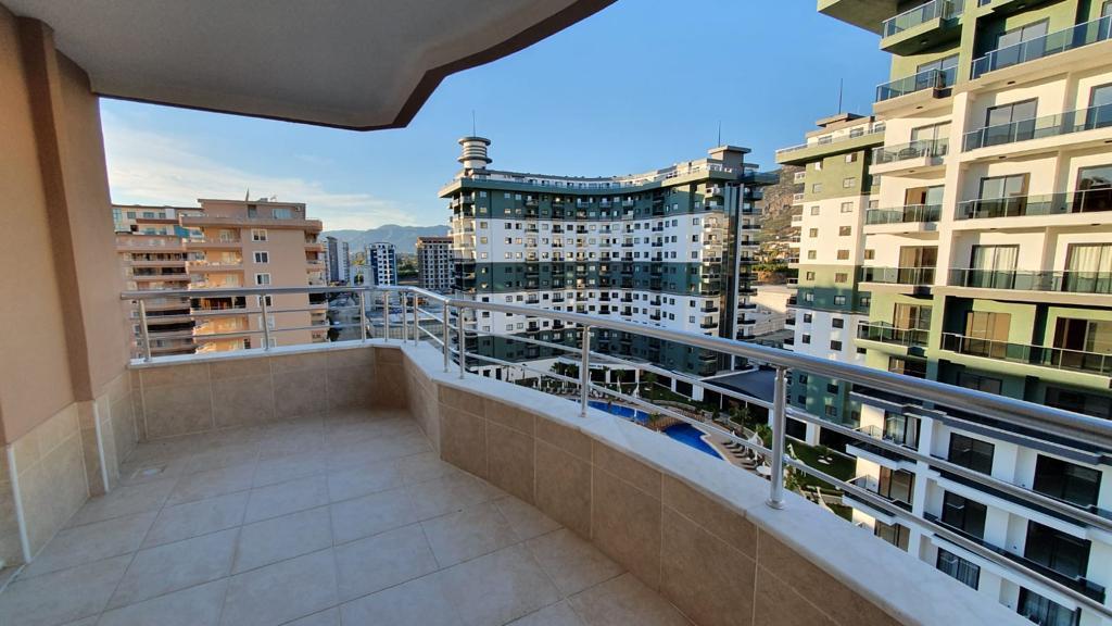 Просторная меблированная квартира в Махмутларе с видом на море и горы - Фото 25