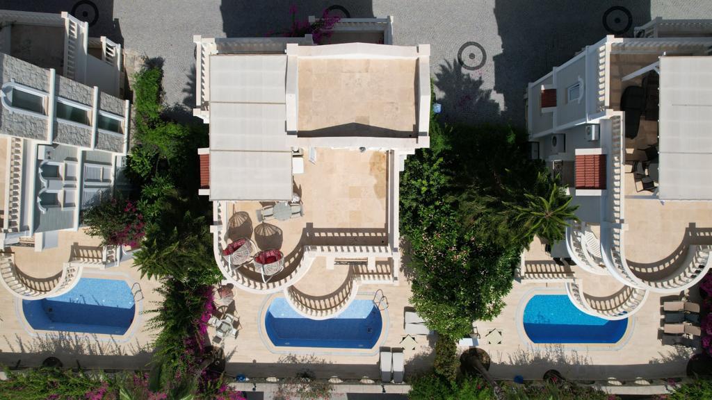 Трехэтажная вилла с бассейном в комплексе а Конаклы - Фото 5