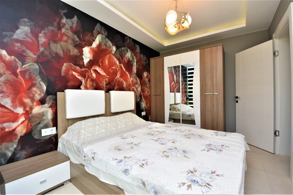 Меблированная квартира 1+1 в комплексе на первой береговой линии в Кестеле - Фото 25