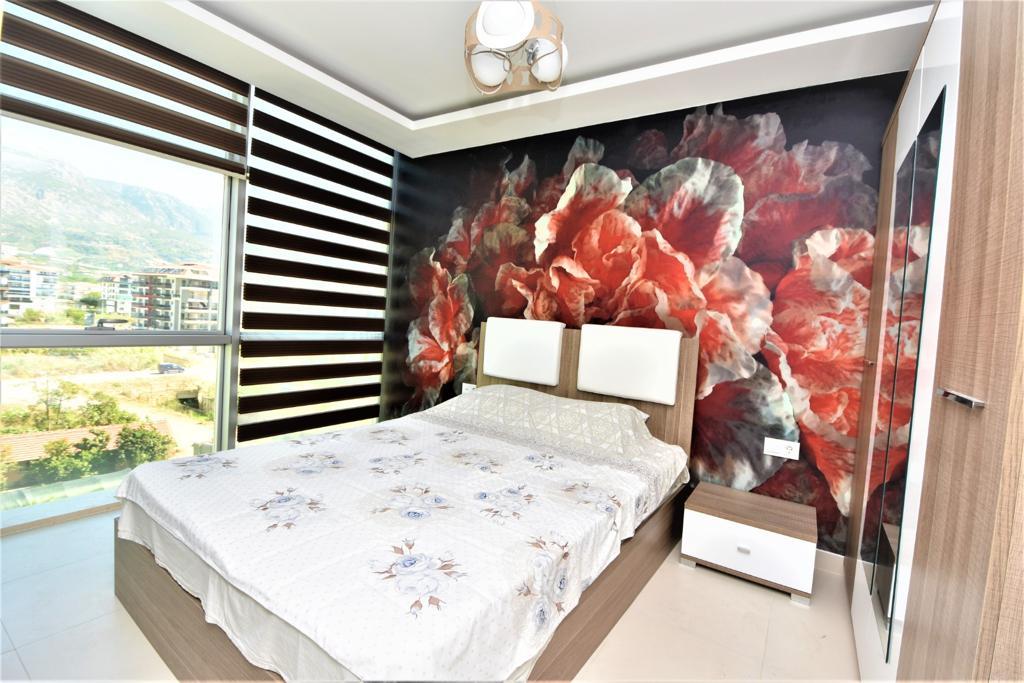 Меблированная квартира 1+1 в комплексе на первой береговой линии в Кестеле - Фото 26