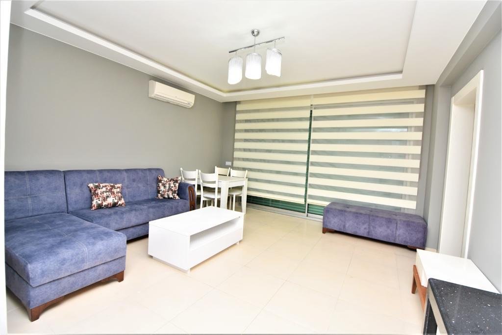 Меблированная квартира 1+1 в комплексе на первой береговой линии в Кестеле - Фото 23