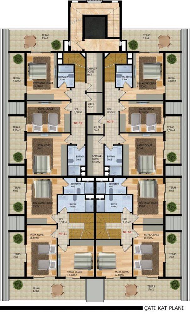 Новый проект городского типа в Районе Оба - Фото 8