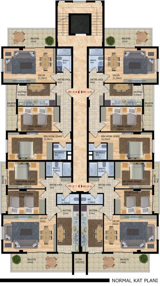 Новый проект городского типа в Районе Оба - Фото 9