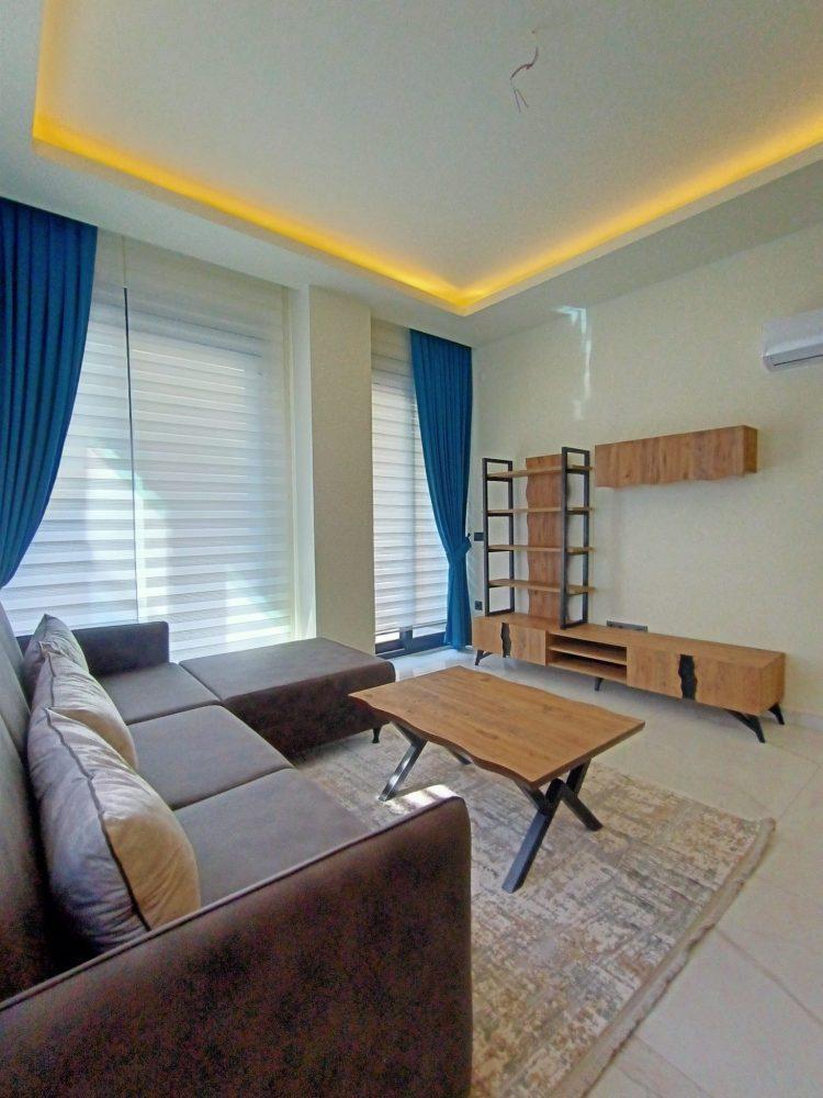 Уютная квартира 1+1 в центре Алании в аренду - Фото 15