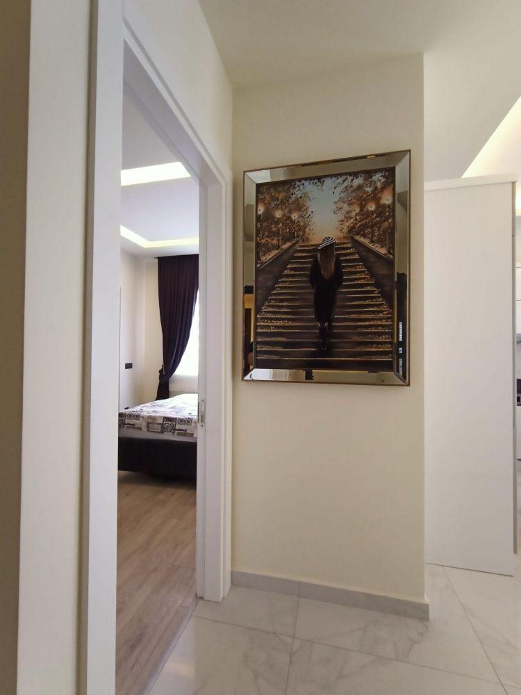 Уютная квартира 1+1 в центре Алании в аренду - Фото 21