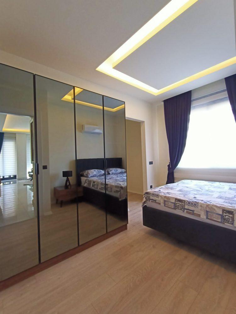 Уютная квартира 1+1 в центре Алании в аренду - Фото 24