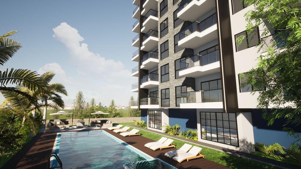 Новый строящийся комплекс рядом с морем в центре Махмутлара - Фото 2