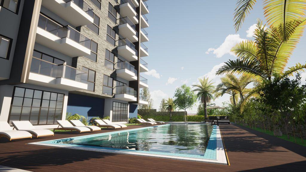 Новый строящийся комплекс рядом с морем в центре Махмутлара - Фото 3
