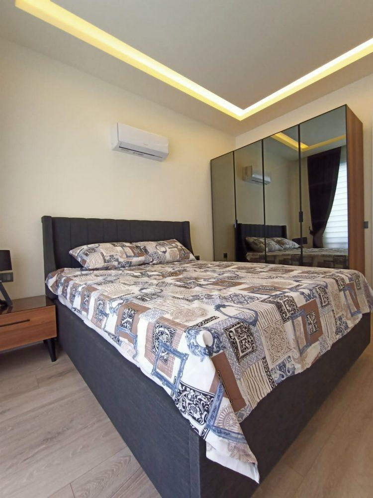 Квартира 1+1 в самом центре Алании в хорошем комплексе в аренду - Фото 21