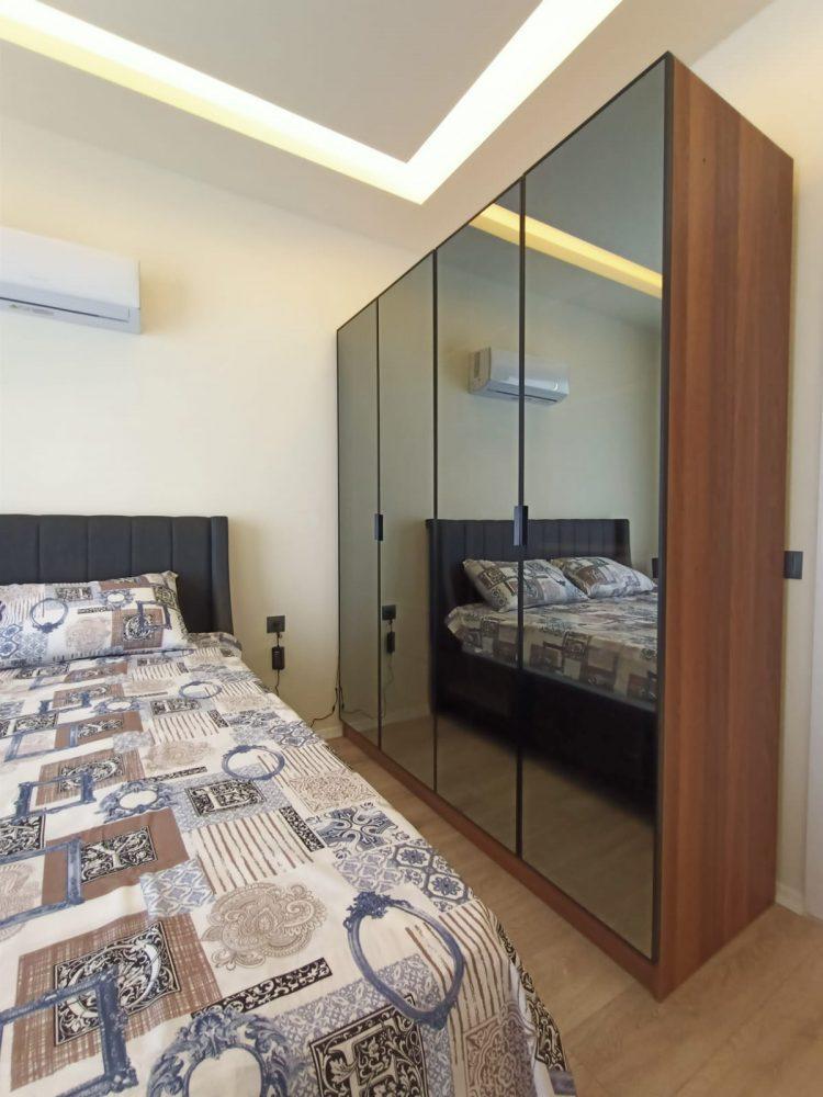 Квартира 1+1 в самом центре Алании в хорошем комплексе в аренду - Фото 18