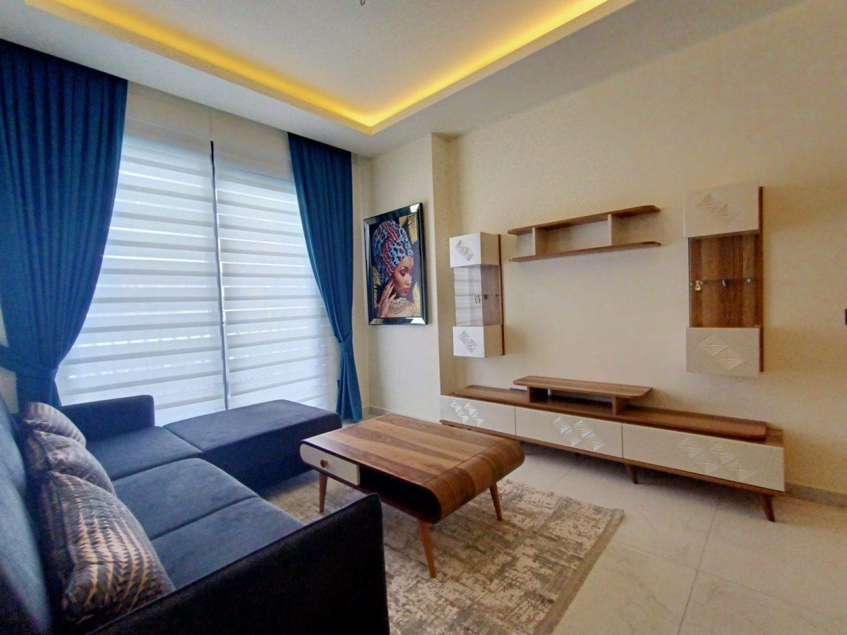 Квартира 1+1 в самом центре Алании в хорошем комплексе в аренду - Фото 14