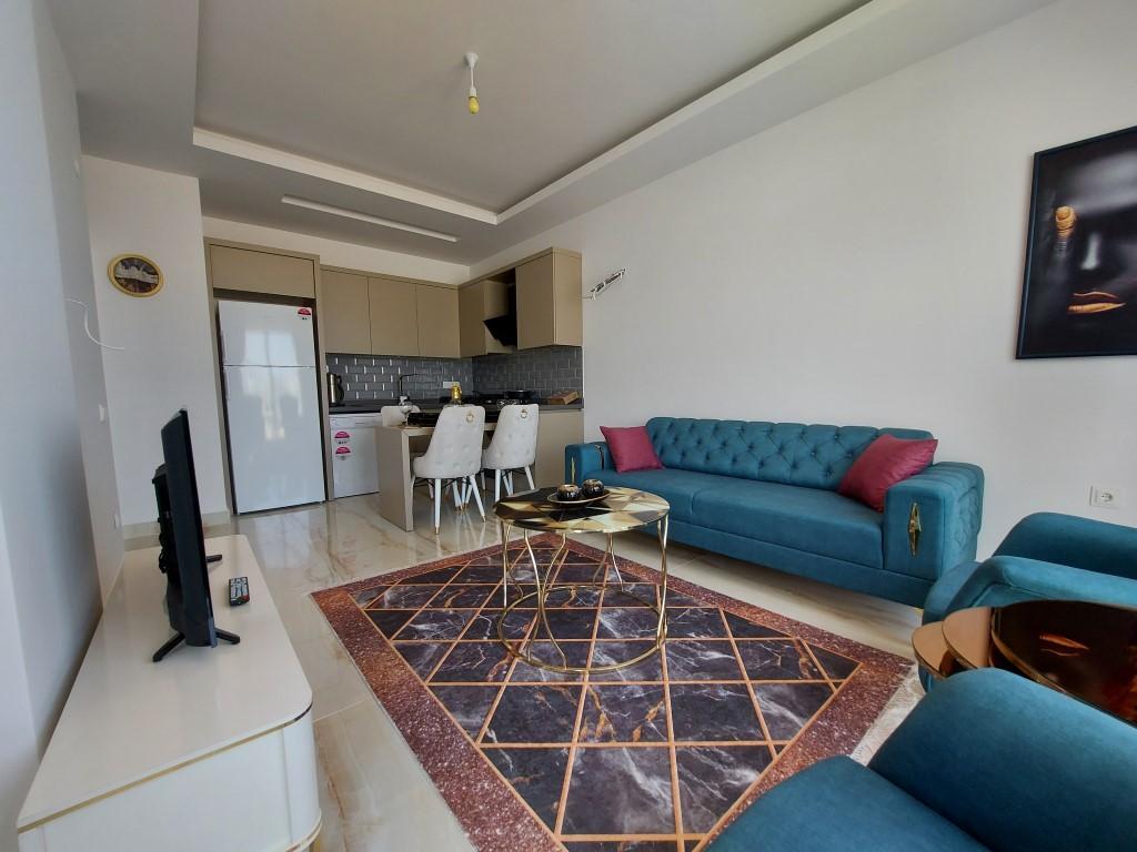 Новая квартира 1+1 в Каргыджаке с мебелью и техникой - Фото 15