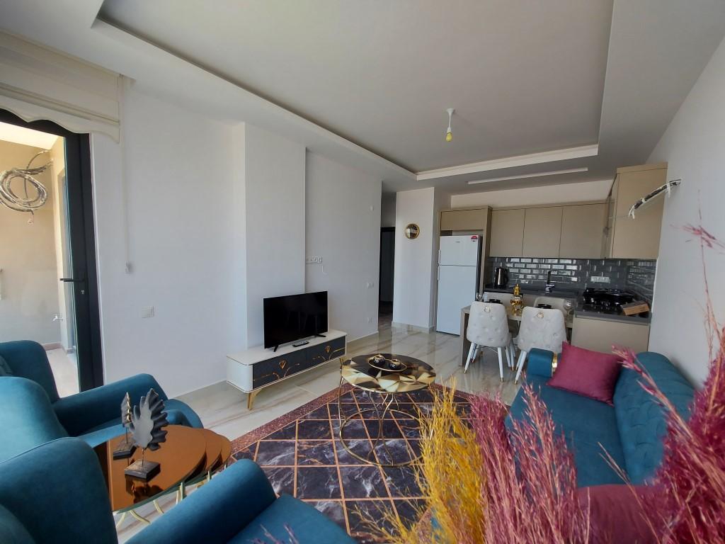 Новая квартира 1+1 в Каргыджаке с мебелью и техникой - Фото 16
