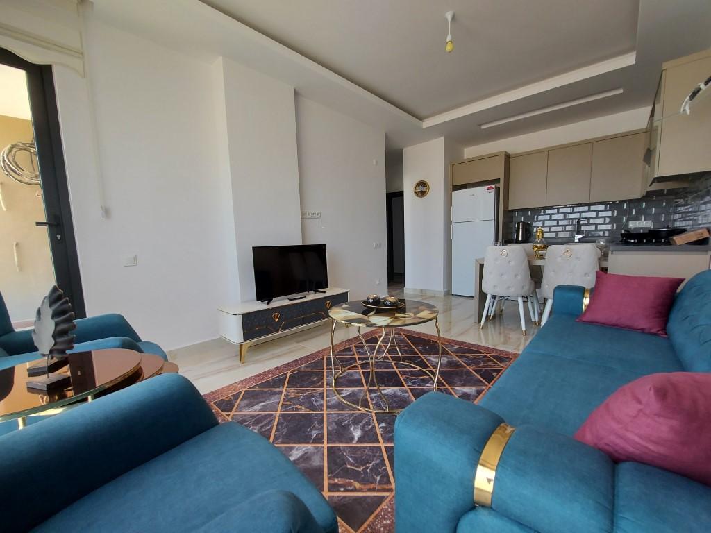 Новая квартира 1+1 в Каргыджаке с мебелью и техникой - Фото 17