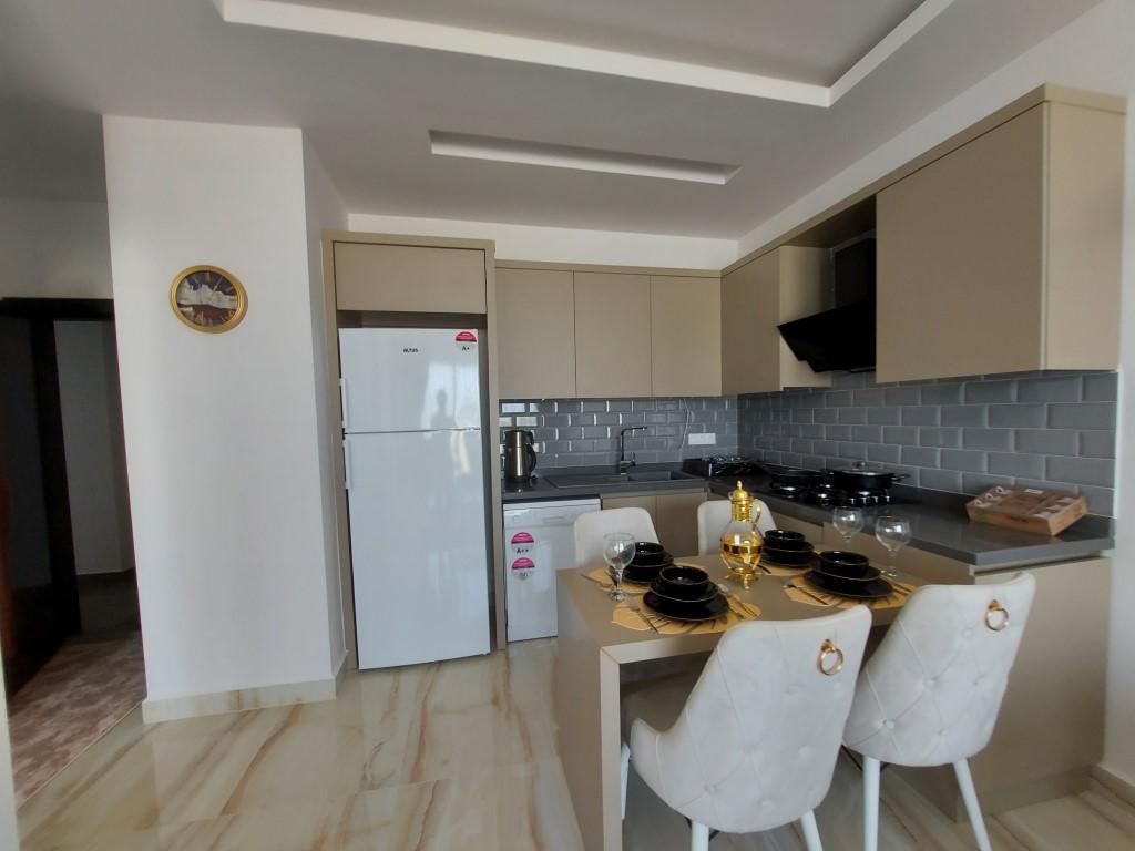 Новая квартира 1+1 в Каргыджаке с мебелью и техникой - Фото 13