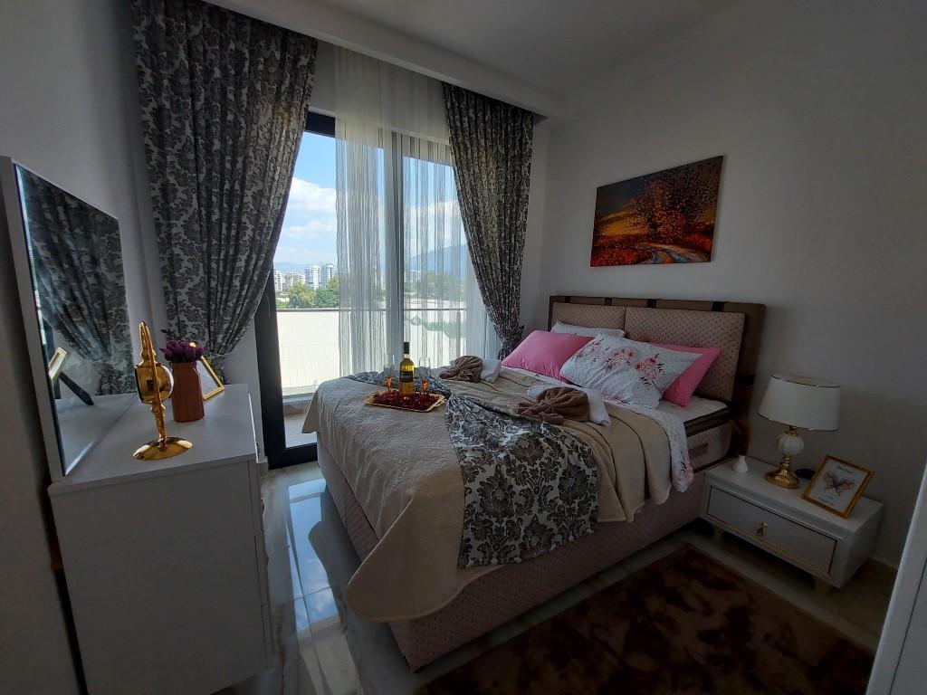 Новая квартира 1+1 в Каргыджаке с мебелью и техникой - Фото 18