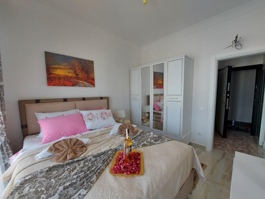 Новая квартира 1+1 в Каргыджаке с мебелью и техникой - Фото 19
