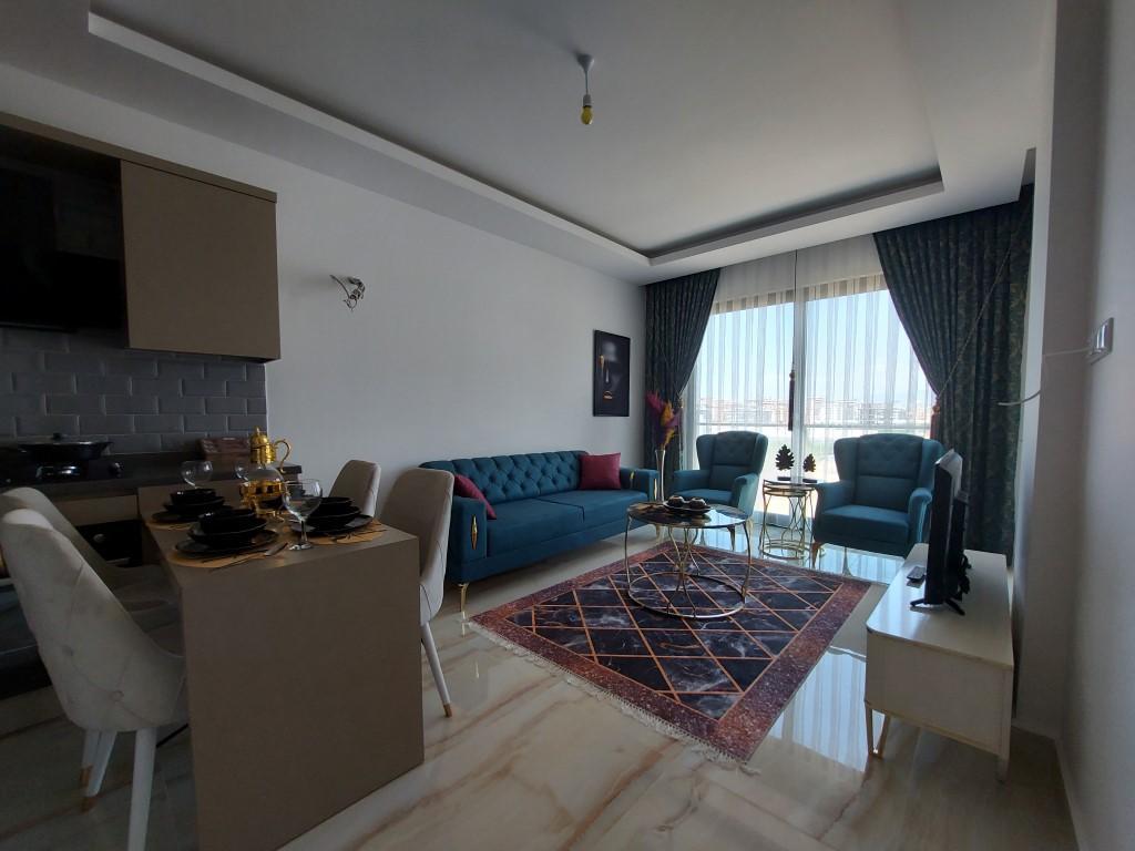 Новая квартира 1+1 в Каргыджаке с мебелью и техникой - Фото 14