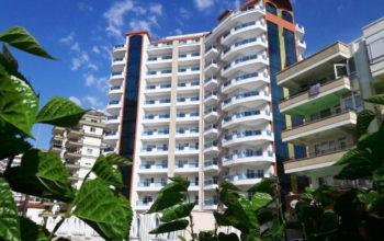Новые апартаменты 1+1  с инфраструктурой отеля в Махмутларе