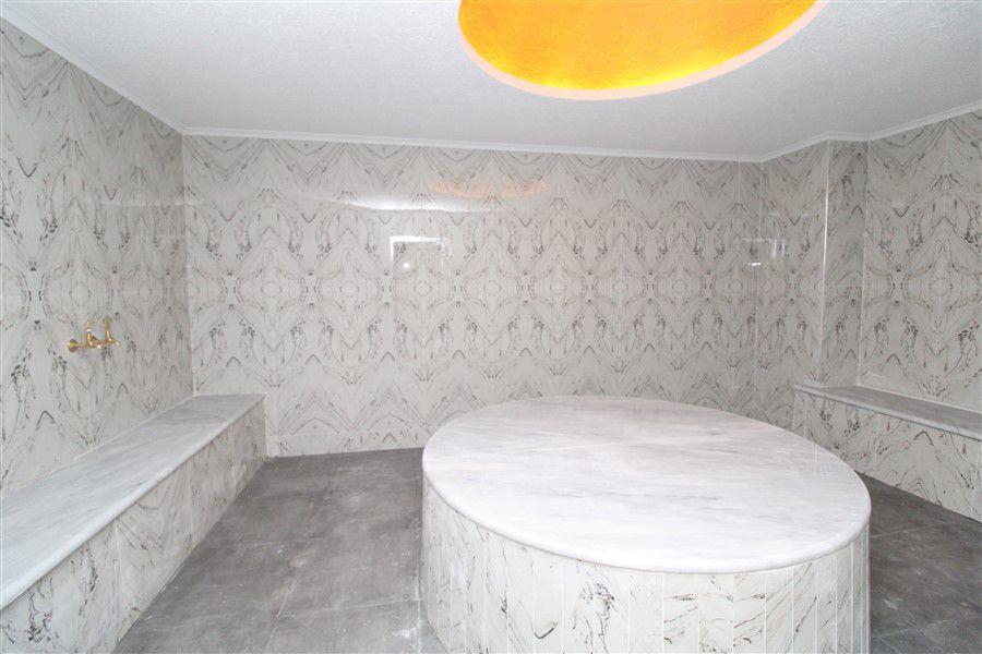 Новые светлые апартаменты 1+1 в Махмутлар - Фото 13