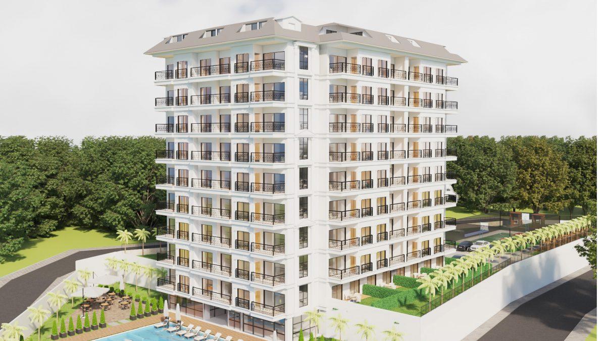 Апартаменты в ЖК премиум-класса в Авсалларе - Фото 2