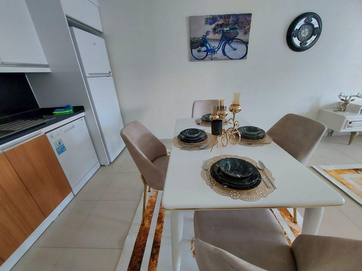 Просторная меблированная квартира 1+1 в Махмутларе - Фото 17