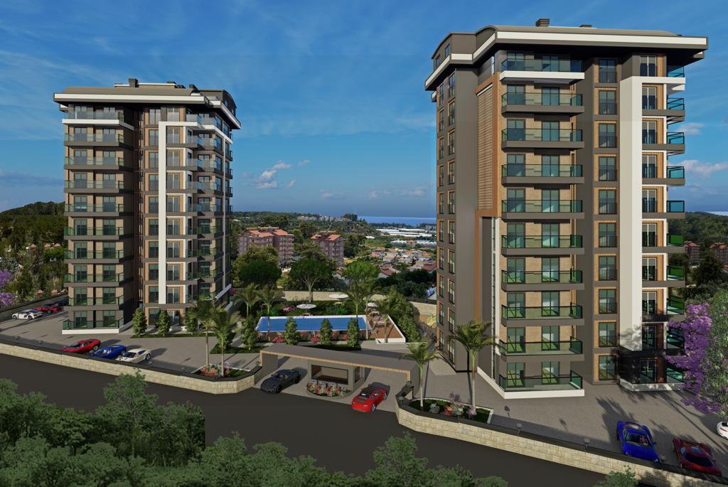 Квартиры с панорамным видом в Авсалларе - Фото 7
