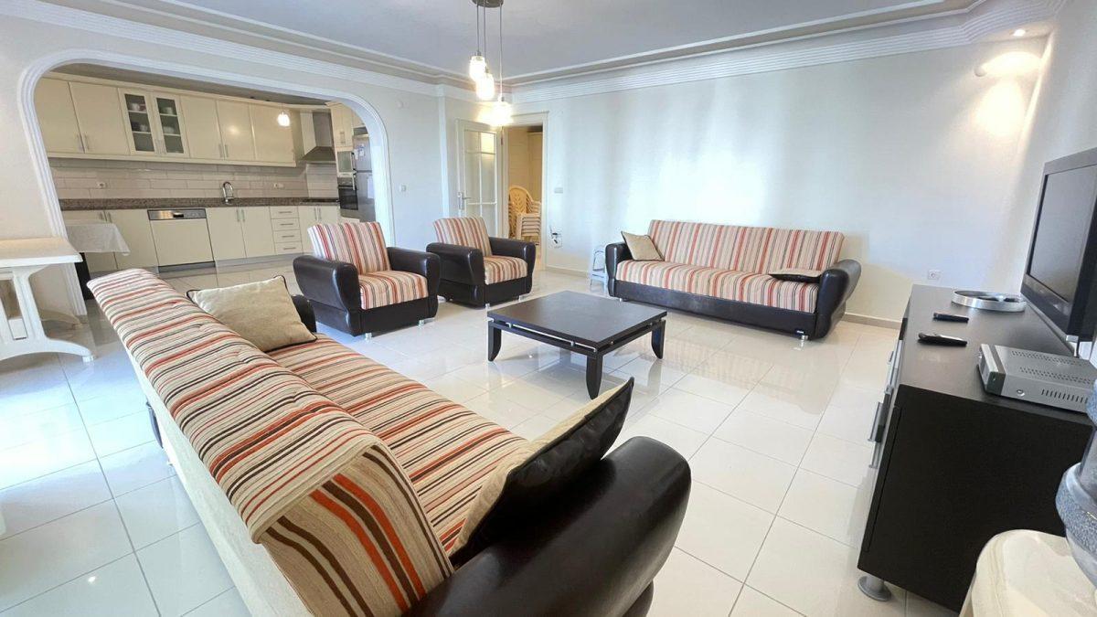 Просторная квартира с мебелью в Махмутларе - Фото 23