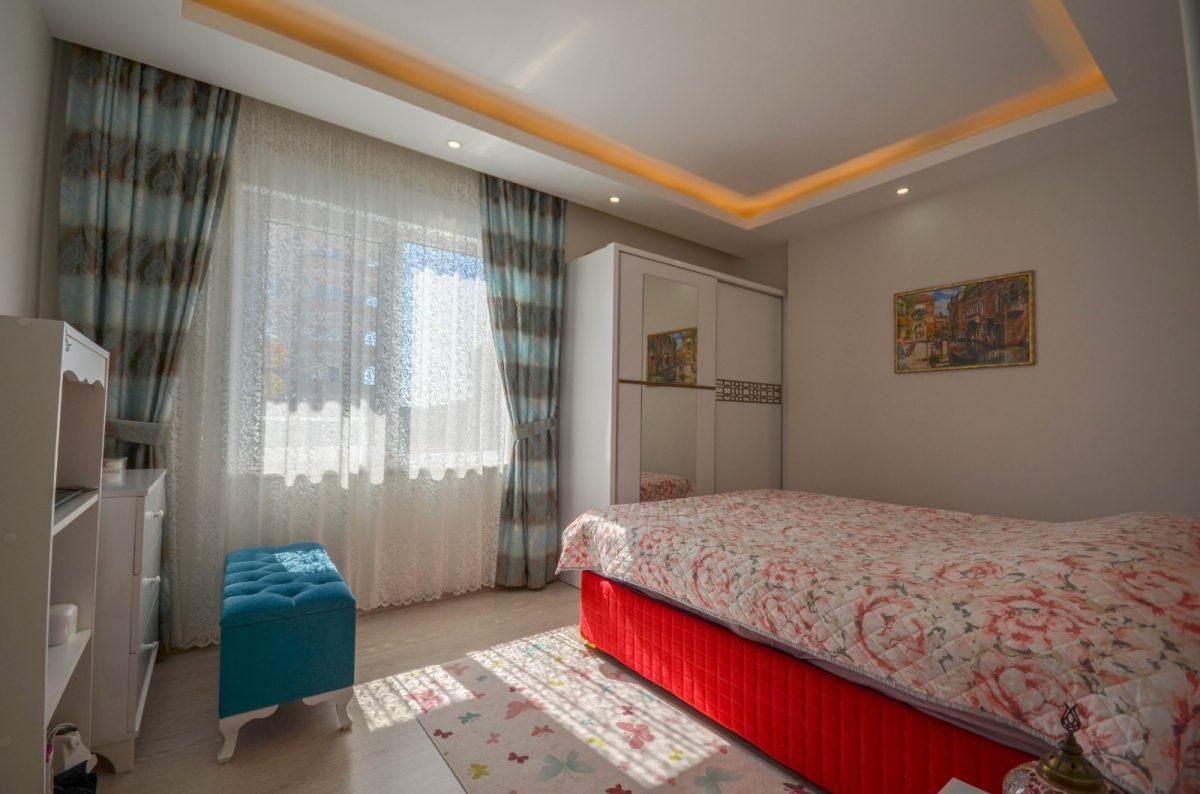 Просторная квартира с мебелью и техникой в Махмутларе - Фото 12