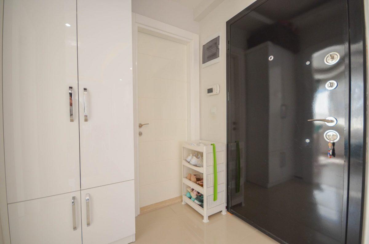 Просторная квартира с мебелью и техникой в Махмутларе - Фото 13