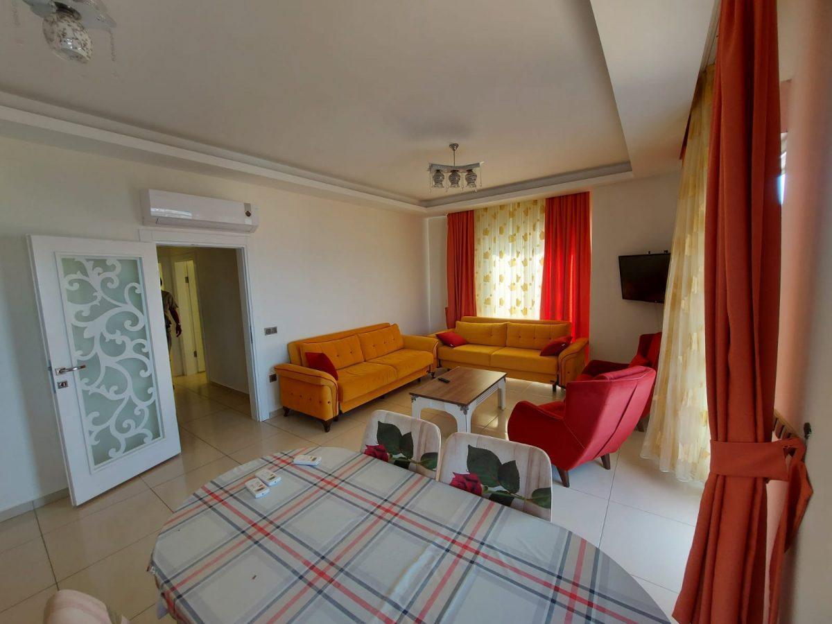 Меблированная квартира 2+1 на центральной улице в Махмутларе - Фото 13