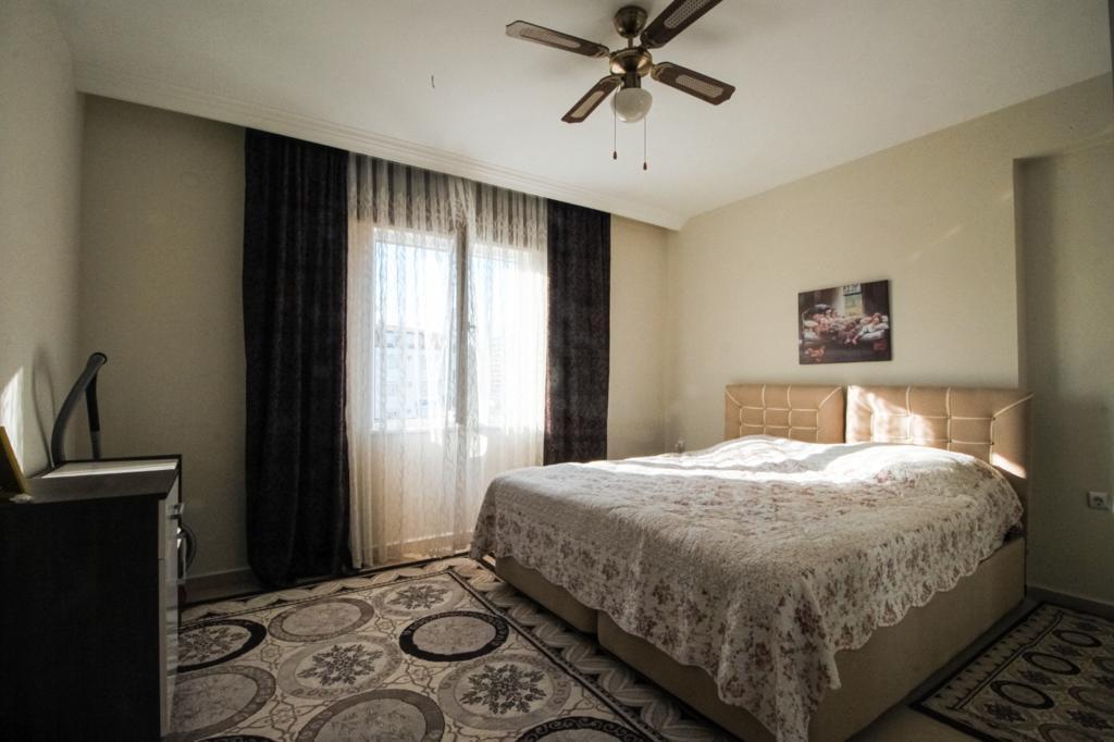 Меблированная двухкомнатная квартира в центре Махмутлара - Фото 18