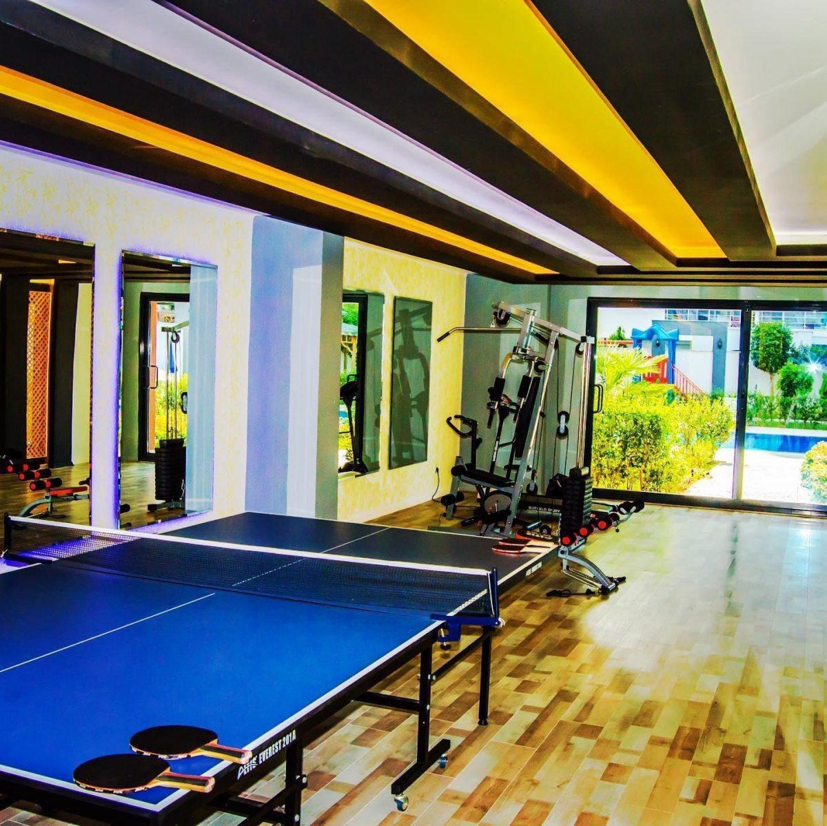 Просторная квартира с мебелью и техникой в Махмутларе - Фото 18