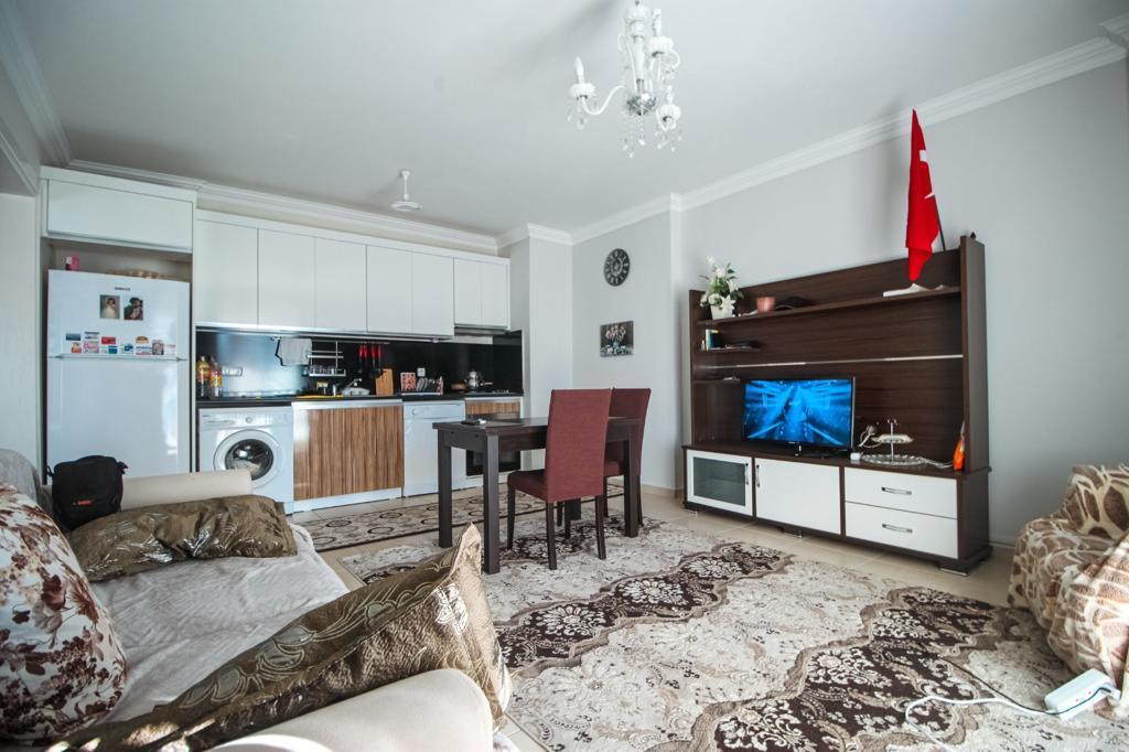 Меблированная двухкомнатная квартира в центре Махмутлара - Фото 13