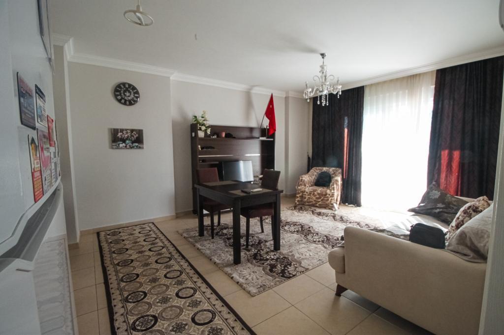 Меблированная двухкомнатная квартира в центре Махмутлара - Фото 16