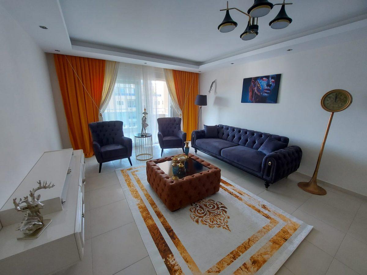 Просторная меблированная квартира 1+1 в Махмутларе - Фото 13