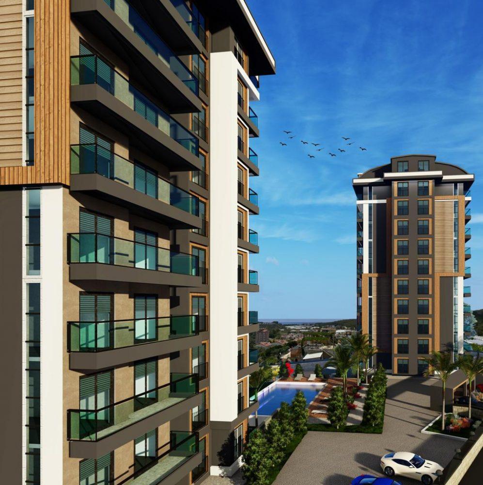 Квартиры с панорамным видом в Авсалларе - Фото 8