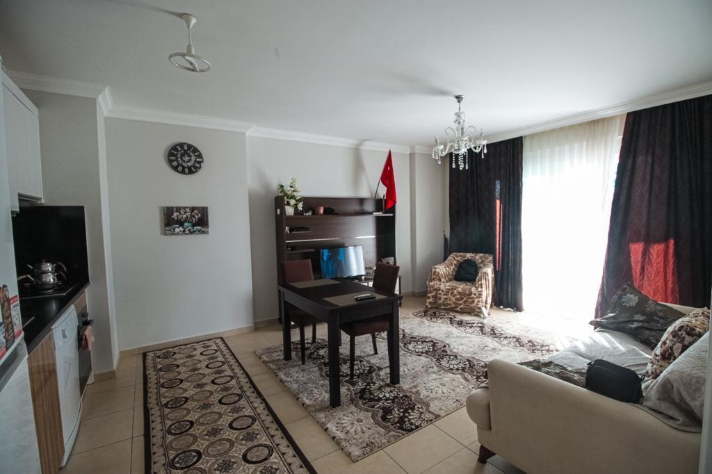 Меблированная двухкомнатная квартира в центре Махмутлара - Фото 15