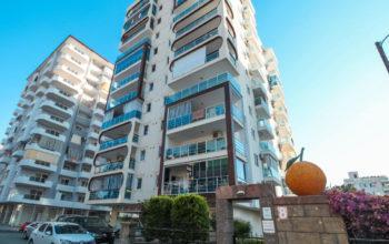 Меблированная двухкомнатная квартира в центре Махмутлара
