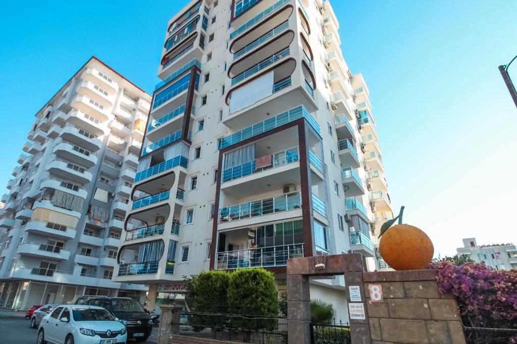Меблированная двухкомнатная квартира в центре Махмутлара - Фото 1
