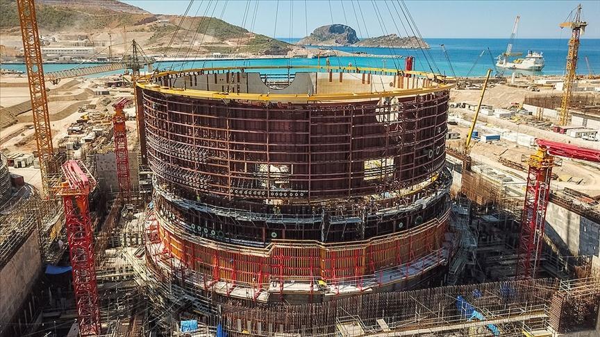 В Турции преступают к строительству второго энергоблока АЭС Аккую (NGS)