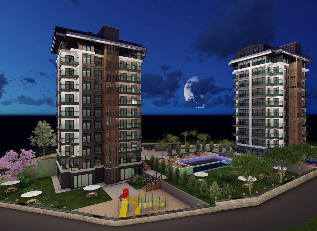Квартиры с панорамным видом в Авсалларе - Фото 1