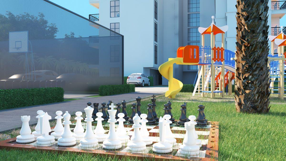 Апартаменты в ЖК премиум-класса в Авсалларе - Фото 10