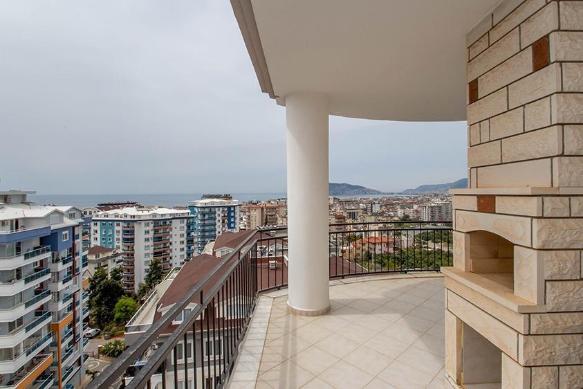 Просторная квартира 2+1 с видом на море в Тосмуре - Фото 23