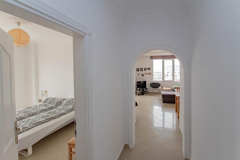 Просторная квартира 2+1 с видом на море в Тосмуре - Фото 14