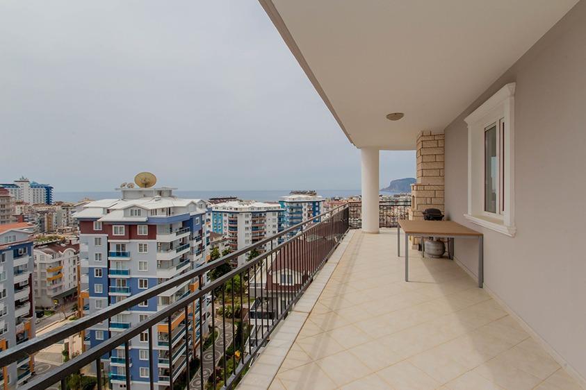 Просторная квартира 2+1 с видом на море в Тосмуре - Фото 22