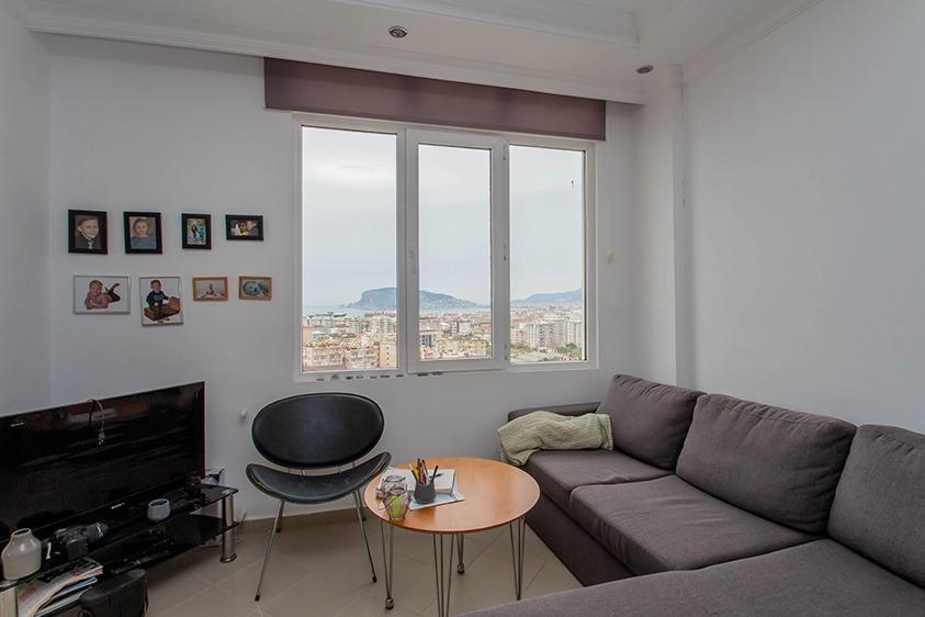 Просторная квартира 2+1 с видом на море в Тосмуре - Фото 15