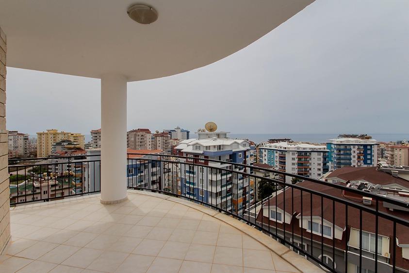 Просторная квартира 2+1 с видом на море в Тосмуре - Фото 20